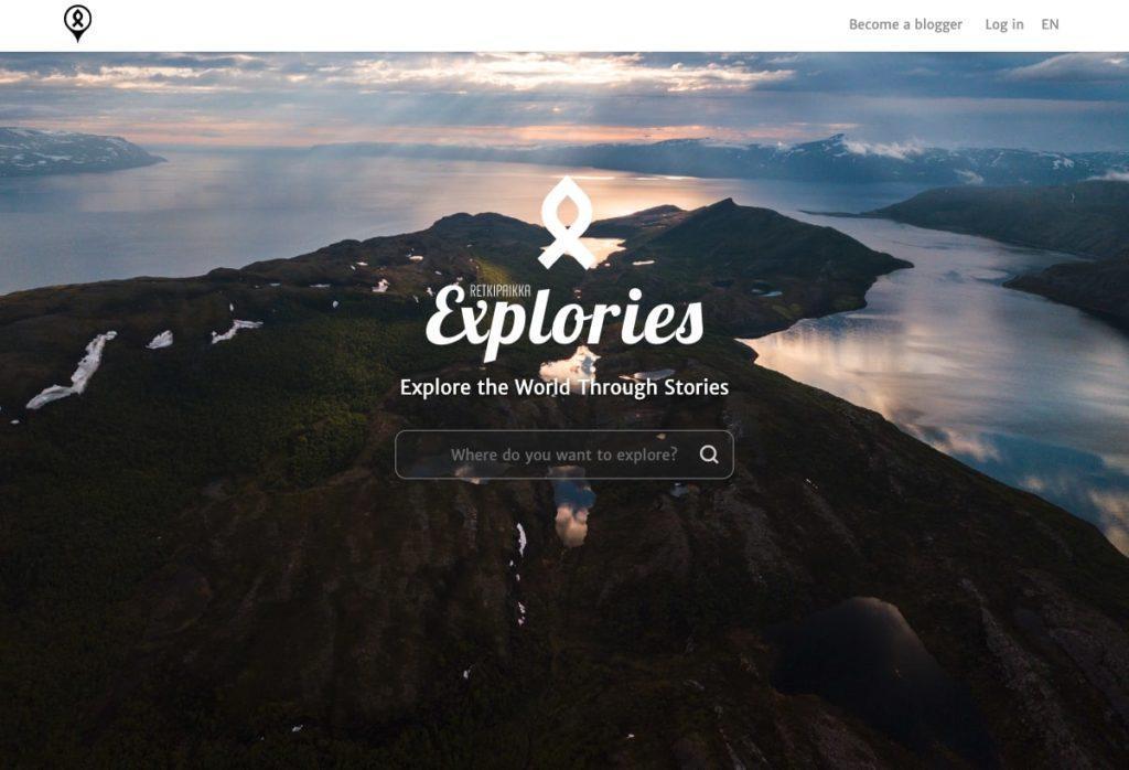 Referenssi: Retkipaikka Explories