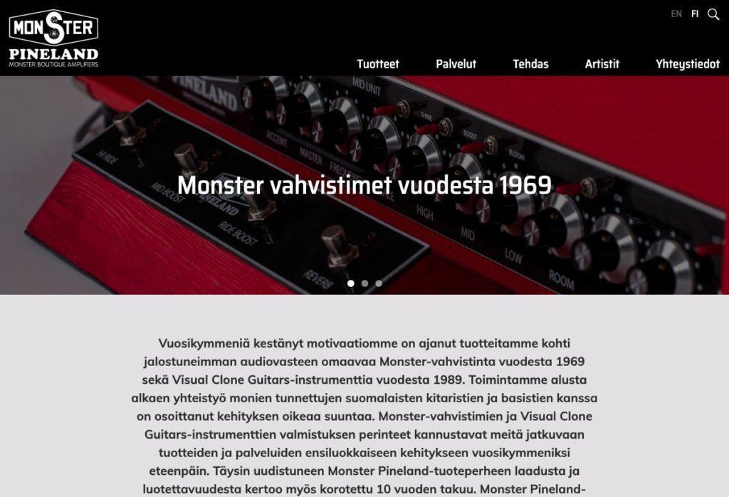 Referenssi | Monster Amps