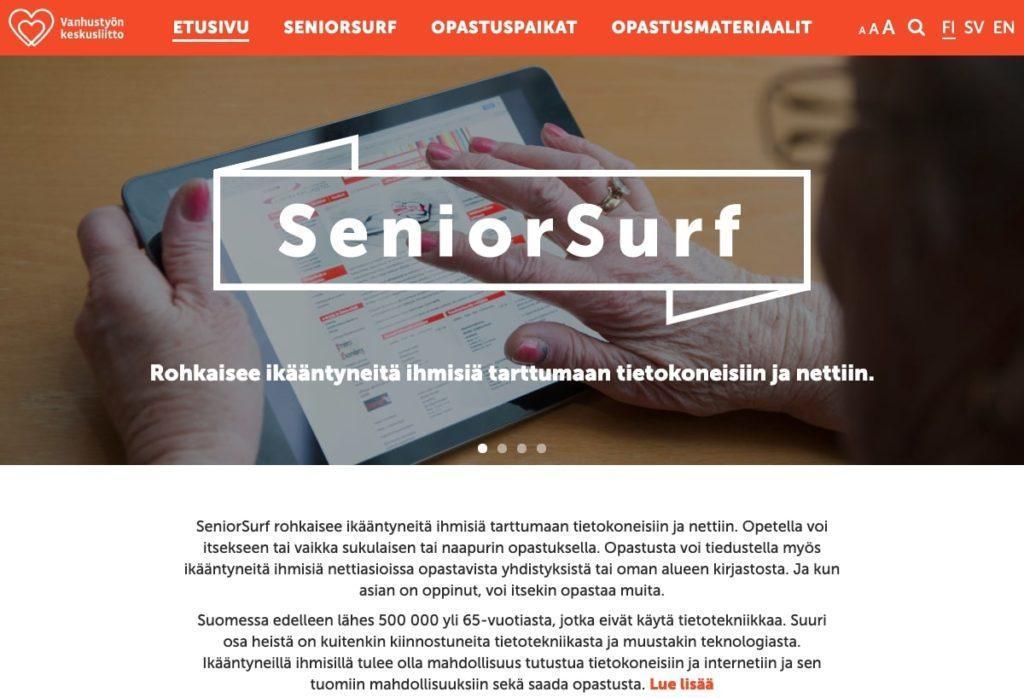 Referenssi: SeniorSurf